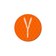 Iron Orange Y Combinator Gears Golf Ball Marker (4 Pack) by Mariart