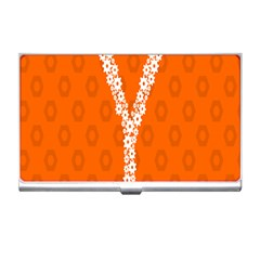 Iron Orange Y Combinator Gears Business Card Holders by Mariart