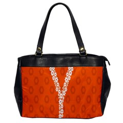 Iron Orange Y Combinator Gears Office Handbags by Mariart