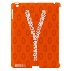 Iron Orange Y Combinator Gears Apple Ipad 3/4 Hardshell Case (compatible With Smart Cover) by Mariart