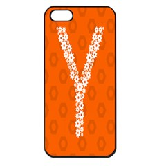Iron Orange Y Combinator Gears Apple Iphone 5 Seamless Case (black) by Mariart