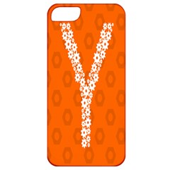 Iron Orange Y Combinator Gears Apple Iphone 5 Classic Hardshell Case by Mariart