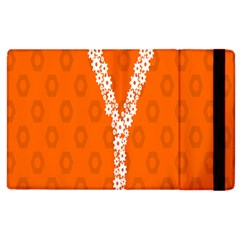 Iron Orange Y Combinator Gears Apple Ipad 2 Flip Case by Mariart
