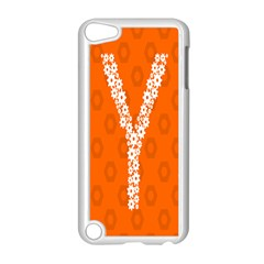 Iron Orange Y Combinator Gears Apple Ipod Touch 5 Case (white) by Mariart