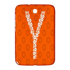 Iron Orange Y Combinator Gears Samsung Galaxy Note 8 0 N5100 Hardshell Case  by Mariart