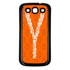 Iron Orange Y Combinator Gears Samsung Galaxy S3 Back Case (black) by Mariart