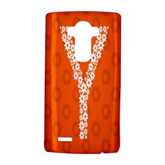 Iron Orange Y Combinator Gears Lg G4 Hardshell Case by Mariart