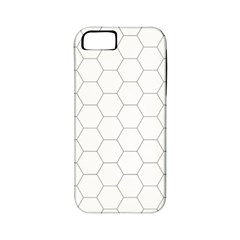 Hex Grid Plaid Green Yellow Blue Orange White Apple Iphone 5 Classic Hardshell Case (pc+silicone) by Mariart