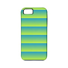 Line Horizontal Green Blue Yellow Light Wave Chevron Apple Iphone 5 Classic Hardshell Case (pc+silicone) by Mariart