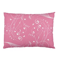 Floral Design Pillow Case (two Sides) by ValentinaDesign