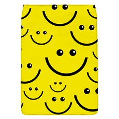 Linus Smileys Face Cute Yellow Flap Covers (s)  by Mariart