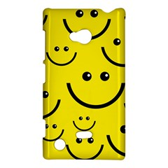 Linus Smileys Face Cute Yellow Nokia Lumia 720 by Mariart