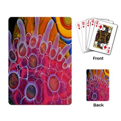 Micro Macro Belle Fisher Nature Stone Playing Card by Mariart