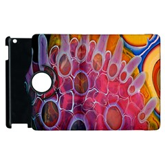 Micro Macro Belle Fisher Nature Stone Apple Ipad 3/4 Flip 360 Case by Mariart