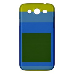 Plaid Green Blue Yellow Samsung Galaxy Mega 5 8 I9152 Hardshell Case  by Mariart