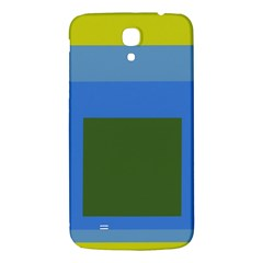 Plaid Green Blue Yellow Samsung Galaxy Mega I9200 Hardshell Back Case by Mariart
