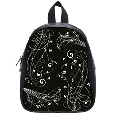 Floral Design School Bags (small)  by ValentinaDesign