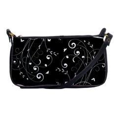 Floral Design Shoulder Clutch Bags by ValentinaDesign