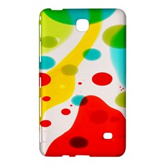 Polkadot Color Rainbow Red Blue Yellow Green Samsung Galaxy Tab 4 (8 ) Hardshell Case  by Mariart