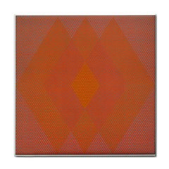 Live Three Term Side Card Orange Pink Polka Dot Chevron Wave Face Towel by Mariart