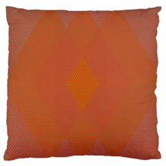 Live Three Term Side Card Orange Pink Polka Dot Chevron Wave Large Cushion Case (two Sides) by Mariart
