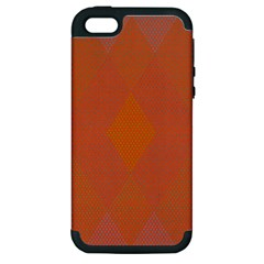 Live Three Term Side Card Orange Pink Polka Dot Chevron Wave Apple Iphone 5 Hardshell Case (pc+silicone) by Mariart