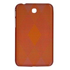 Live Three Term Side Card Orange Pink Polka Dot Chevron Wave Samsung Galaxy Tab 3 (7 ) P3200 Hardshell Case  by Mariart