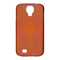 Live Three Term Side Card Orange Pink Polka Dot Chevron Wave Samsung Galaxy S4 Classic Hardshell Case (pc+silicone) by Mariart