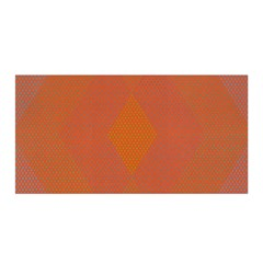 Live Three Term Side Card Orange Pink Polka Dot Chevron Wave Satin Wrap by Mariart