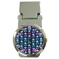 Polkadot Plaid Circle Line Pink Purple Blue Money Clip Watches by Mariart