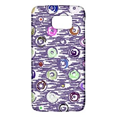 Painted Circles     Htc One M9 Hardshell Case by LalyLauraFLM