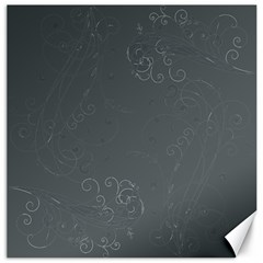 Floral Design Canvas 12  X 12   by ValentinaDesign