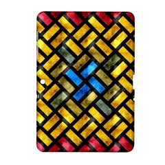 Metal Rectangles      Samsung Galaxy Tab 2 (7 ) P3100 Hardshell Case by LalyLauraFLM