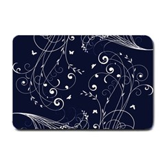 Floral Design Small Doormat