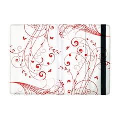 Floral Design Apple Ipad Mini Flip Case by ValentinaDesign