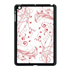 Floral Design Apple Ipad Mini Case (black) by ValentinaDesign