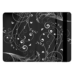 Floral Design Samsung Galaxy Tab Pro 12 2  Flip Case by ValentinaDesign