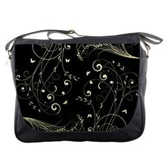 Floral Design Messenger Bags