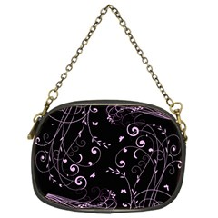 Floral Design Chain Purses (one Side)