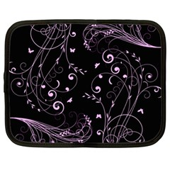 Floral Design Netbook Case (xl)