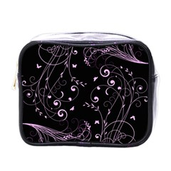Floral Design Mini Toiletries Bags