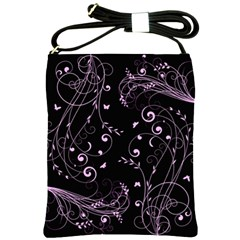 Floral Design Shoulder Sling Bags