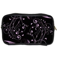 Floral Design Toiletries Bags