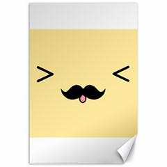 Mustache Canvas 24  X 36  by Nexatart