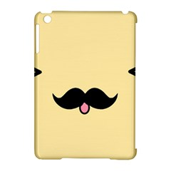 Mustache Apple Ipad Mini Hardshell Case (compatible With Smart Cover) by Nexatart