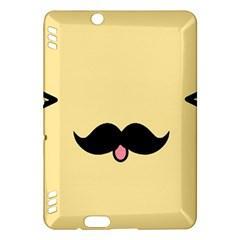 Mustache Kindle Fire Hdx Hardshell Case
