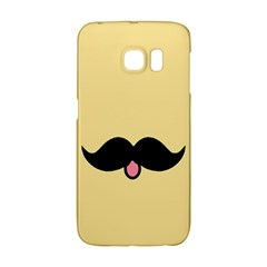 Mustache Galaxy S6 Edge by Nexatart