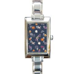 Kawaiieen Pattern Rectangle Italian Charm Watch by Nexatart