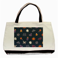 Kawaiieen Pattern Basic Tote Bag (two Sides)