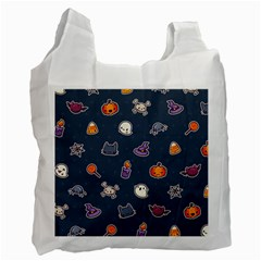 Kawaiieen Pattern Recycle Bag (one Side) by Nexatart